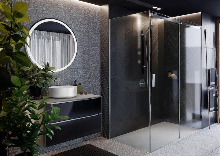 Nowoczesne kabiny prysznicowe Town-N i Area