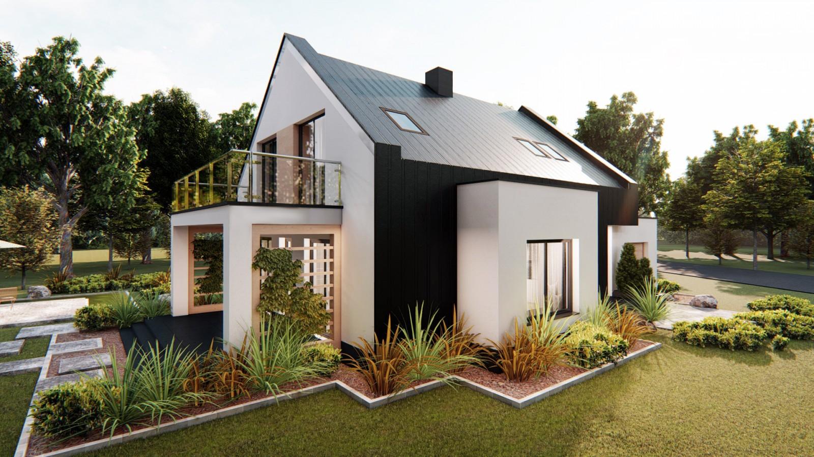 Projekty domów typu stodoła