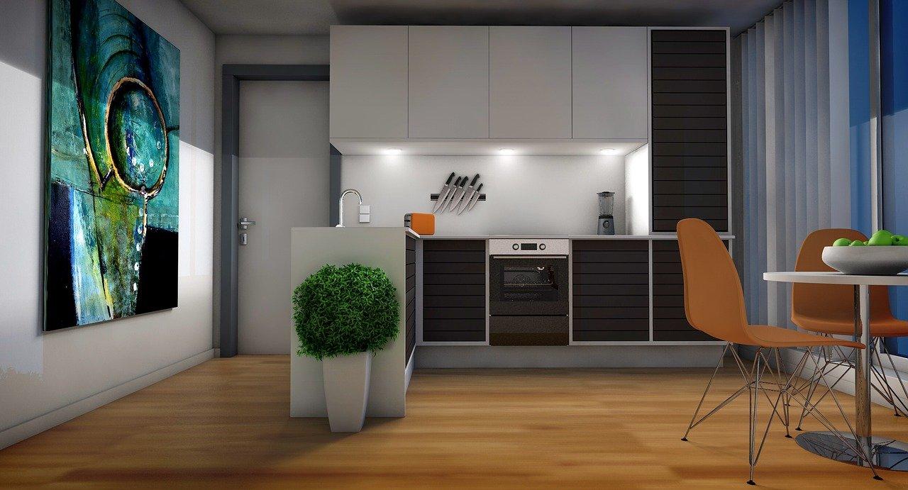 Oświetlenie LED w kuchni, jak je odpowiednio dobrać?