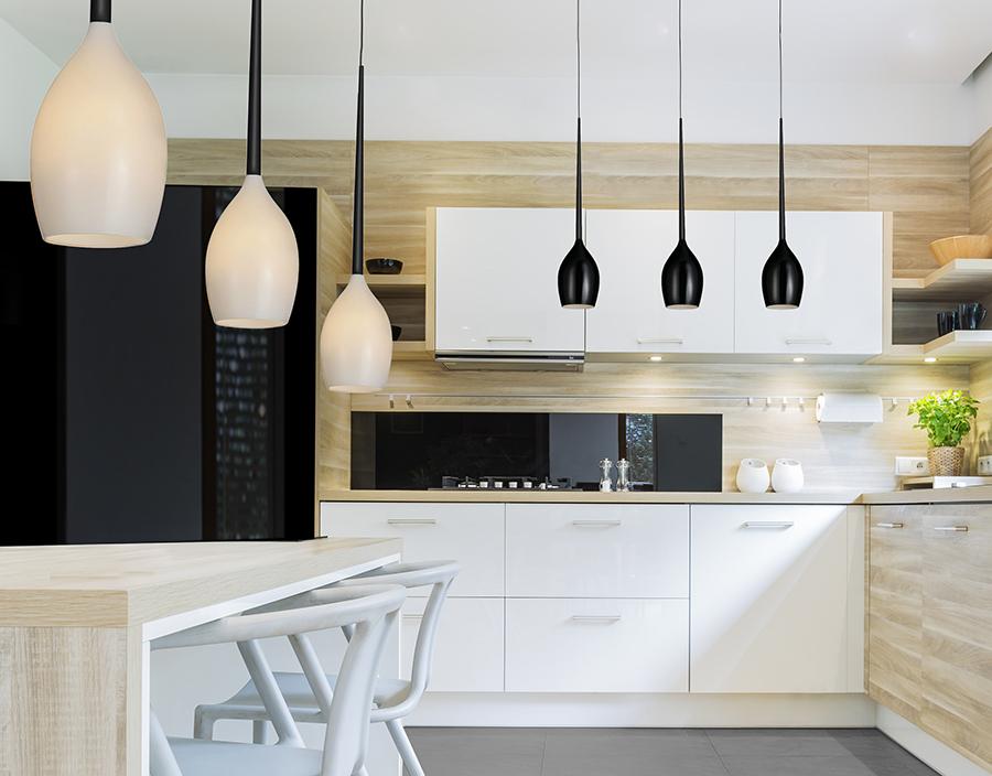 Praktyczne i modne oświetlenie do kuchni
